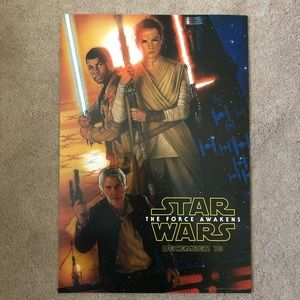 D23 21015 - Star Wars The Force Awakens Poster